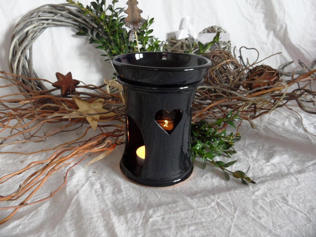 Aroma lampa černá