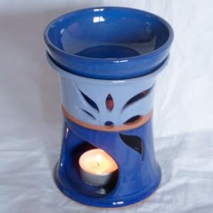 """Aroma lampa velká """"rovná"""" bez ucha (modrá)"""